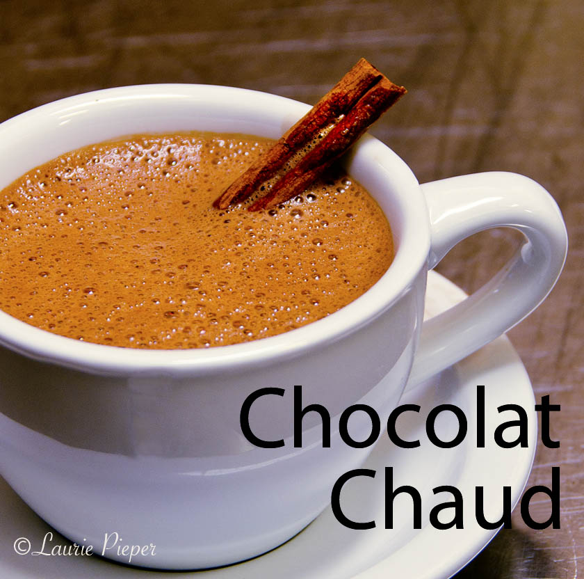 how to say hot chocolate in french