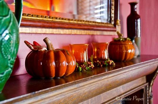 ThanksgivingPumpkins&Candles
