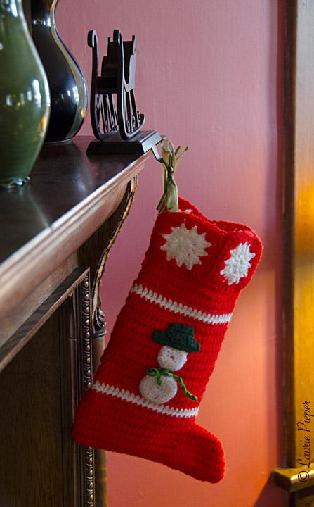 ChristmasStockingKnit